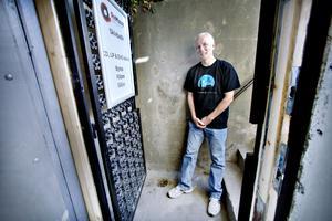 Darren Lovatt öppnar skivbutik på Högbovägen i Sandviken.
