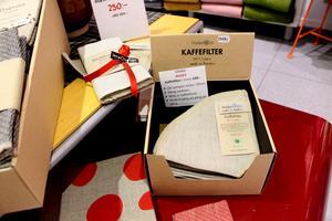 Smart, miljövänligt och närproducerat kaffefilter i linne.