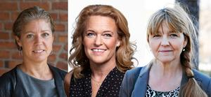 Södertäljes kommunala bolagskoncern har tre kvinnliga vd:ar: Elin Lydahl (Tom Tits experiment), LiseLott Nilsson (Telge fastigheter) och Cecilia Ståhl (Telge tillväxt). Men vid månadsskifte blir de bara två – när Nilsson lämnar sin post.