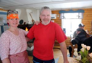 Marika P Kaspergård och Pecka Persson är nya ägare till anrika Nysäterns Fjällgård.