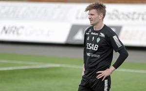 Marcus Astvald hoppas hinna bli spelklar till söndagens match mot Helsingborgs IF.
