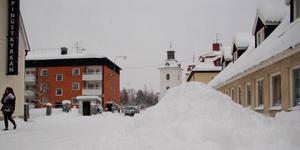 Vinterns snöröjning kostade mer än beräknat för Härjedalens kommun. Foto Arkiv/Carin Selldén