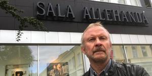 Mats Wikman, chefredaktör och ansvarig utgivare på Sala Allehanda.