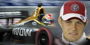 Marcus Ericsson väntar fortfarande på att få provköra Indycar-bilen för första gången. Foto: TT