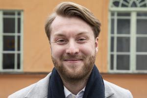 Jesper Erkers, 23, Västerås.