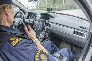 På måndagen stationerades fyra nya utbildade poliser i polisområde Jämtland.
