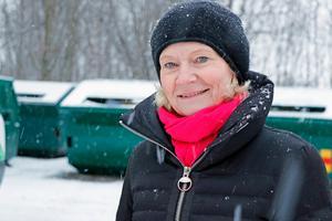 Ulla Krohn, regionchef för FTI i Örebro län, vill gärna bygga en återvinningsstation vid Best Arena.