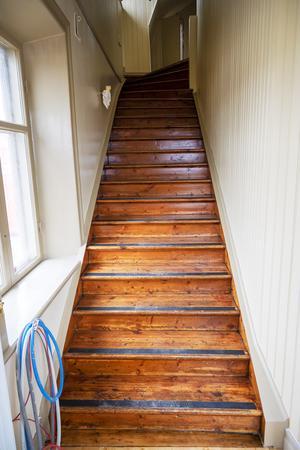 Trappan är från 1930-talet och har gjorts i ordning.