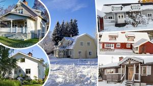 Här är några av de mest klickade husen i Dalarna på Hemnet under vecka 52.