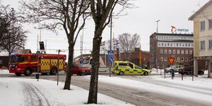 Trafikolycka i Metsokorset.