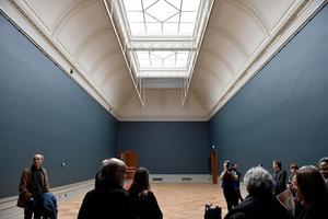 Nationalmuseum slår upp portarna till nyrenoverade lokaler 2018.Bild: Alexander Larsson/TT