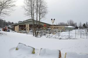 Matsalen på Söråkers skola invigdes i slutet av 2016.