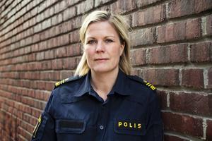 Josefine Perming, ansvarig för polisens kalla fall-grupp.