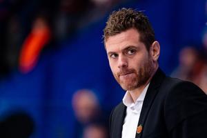 Moras assisterande tränare Daniel Hermansson. Foto: Jonas Ljungdahl/Bildbyrån