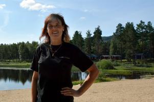 Gunilla Thornberg driver Camp Mid adventure i Torpshammar. Nu vill hon och maken utveckla företaget men då måste Ånge kommun släppa marken.