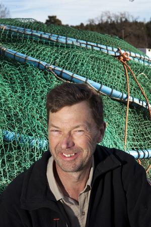 Ängsöfiskarn Per Vidlund. Foto: Anders Forngren