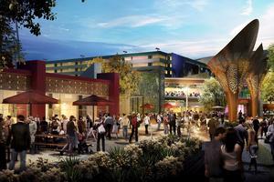 Så här ska den nya parken i Las Vegas se ut.