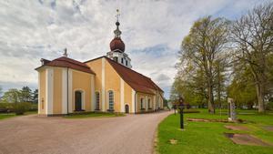 Leksands kyrka. Foto: Arild Vågen