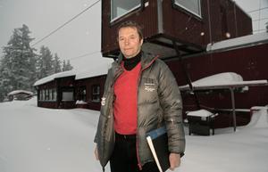 Hans Nauclér, ordförande i I 21 IF, hoppas på en modernisering av lokaler på skidskyttestadion.