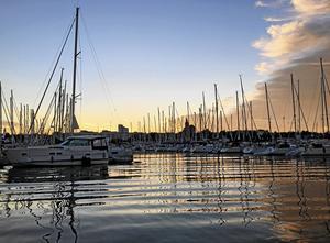 Internationella stöldligor var en fråga som Mikael Damberg tog upp under sitt besök i Nynäshamn. Ligorna står för en stor del av bostadsinbrotten och stölder av fritidsbåtar, bilar och maskiner i landet.