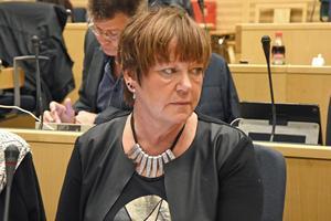 Birgith Olsson Johansson(S) ordförande för bildningsnämnden i Örnsköldsviks kommun.