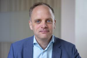 Jonas Stenbäck, försäljningschef, Vattenfall