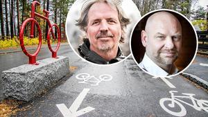 Florian Stamm (MP) och Anders Edvinsson (S).