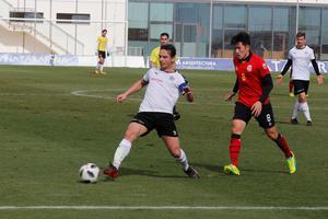 Nordin Gerzic har lämnat klartecken för spel mot Helsingborg. Här i träningsmatchen mot Seoul under Spanienlägret.