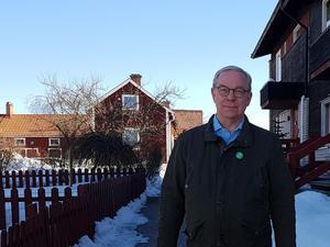 Magnus Gabrielson i MP tycker att för stor del av skogen försvinner.
