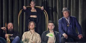 Cajsa Frangquist med band kommer till Västerås Officersmäss fredagen 3 maj. Foto: Pressbild