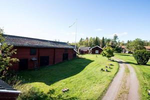 Denna gård i Stråtenbo, Falu kommun, är etta på 2017 års sista Klicktoppen. Foto: Lars Bergman