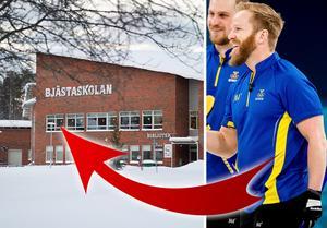 Niklas Edin gick årskurs 7-9 på Bjästaskolan. Det var här han träffade Ulf Nyqvist. Foto: Jan Olav Nesvold/Bildbyrån/Jennie Sundberg.