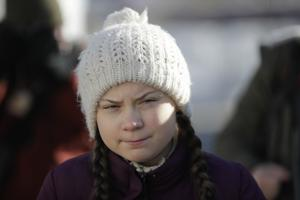 Greta Thunberg. Foto: Markus Schreiber/AP Photo