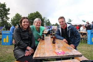 Från höger Andreas Gustafsson, Hanna Blom och Therese Streitlien.