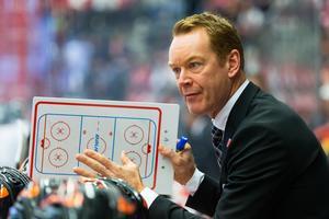 Niklas Eriksson, huvudtränare i Örebro Hockey. Bild: Johan Bernström/Bildbyrån