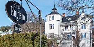 Villa Englaro förmedlades genom PAX Fastighetsmäklari. Foto: Stefan Stindberg/Diakrit