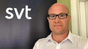 Erik Norbergh, reporter SVT Sörmland.Foto: SVT