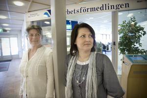 Margaretha Krantz, Arbetsförmedlingen, och Lise Dyröd, Utvecklingscentrum, arbetar med Arbetslivsintroduktionsprogrammet respektive projektet Återinträde på arbetsmarknaden.