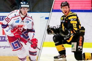 Patrik Blomberg och Sebastian Ohlsson ansluter till Timrå. Bild: Bildbyrån/Montage