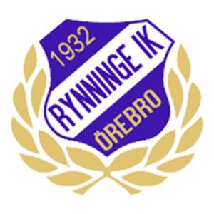 Rynninge IK är en anrik idrottsklubb i Örebro. Den startade som en kvartersklubb 1932. Idag har klubben ekonomiska problem. På bilden syns klubben emblem.