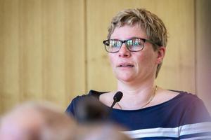 Marina Nilsson (C), andre vice ordförande i teknik- och fritidsnämnden.