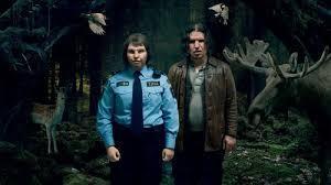 """Tina (Eva Melander) och Vore (Eero Milonoff) i sagoskogen i filmen """"Gräns"""". Bild: Future Film"""