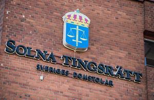 Mannen med kopplingar till Strömsund häktades på torsdagen vid Solna Tingsrätt.Foto: Pontus Lundahl / TT