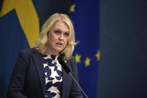 Socialminister Lena Hallengren. Foto: Pontus Lundahl/TT
