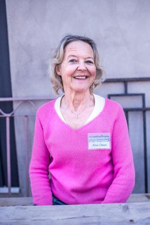 Aina Öman, verksamhetsledare.