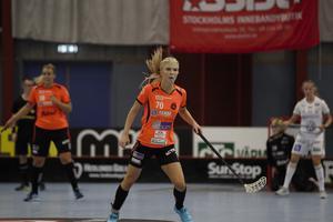 Jonna Sjöberg gjorde ett av Rönnbys mål i storförlusten.