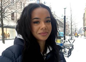 Eunice Karinga, 16 år, studerande, Sundsvall