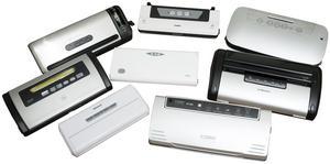 De åtta testade produkterna.