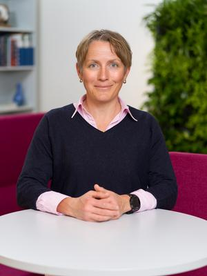Maria Nöremark, veterinär och epidemiolog vid SVA. Foto: Göran Ekeberg.