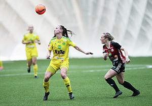 I fotbollshallen har Ljusdals IF tidigare spelat en del av sina matcher. Inplanerade matcher får nu flyttas.